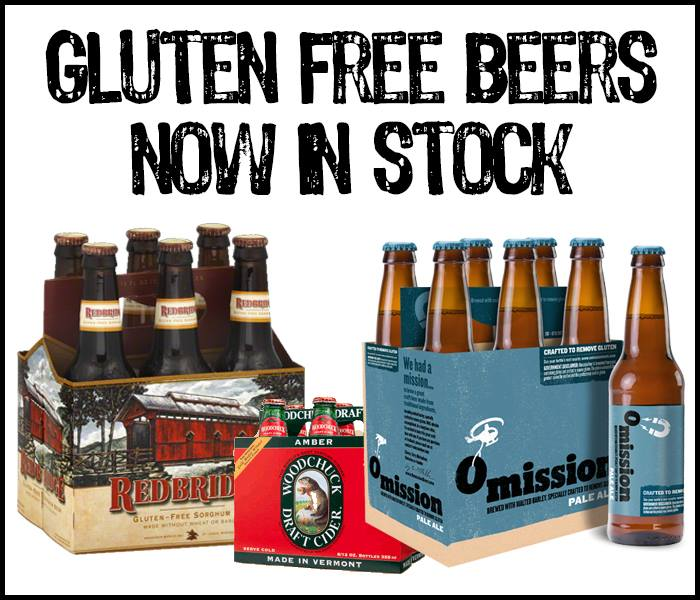 Gluten Free Beers Now In Stock!